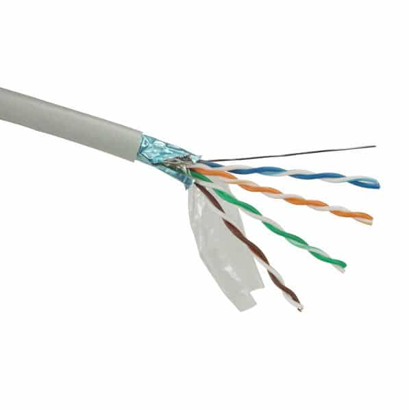 UTP Netwerk kabel Cat5e PVC 305m Grijs Solarix